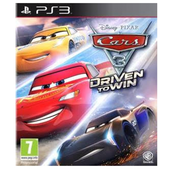 Cars 3 Driven to Win PS3 Game