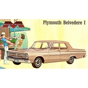Moebius 1:25 1965 Plymouth Belvedere Model Kit