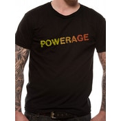 AC/DC - Powerage Logo Men's Medium T-Shirt - Black