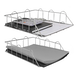 A4 Wire Filing Trays | M&W Silver - Image 5