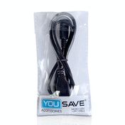 USB To Micro 0.8M USB Cable - Black