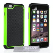 YouSave Accessories iPhone 6 Plus / 6s Plus Grip Combo Case - Green
