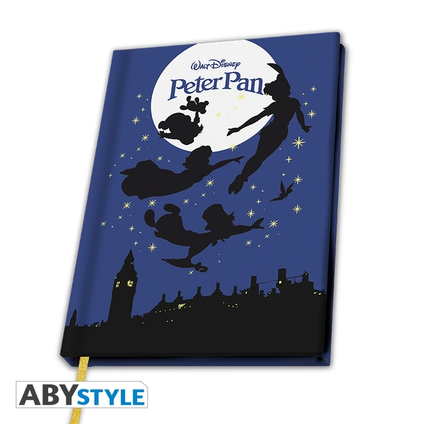Disney - A5 Peter Pan Fly Notebook
