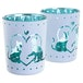 Cat Design Glass Set of 2 Candle Holder - Image 2