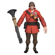Team Fortress 7'' Ultra Deluxe Action Figures: Series 2: RED Soldier