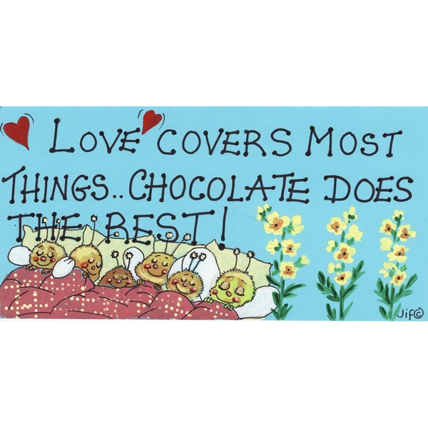Love Covers Most Things Pack Of 12