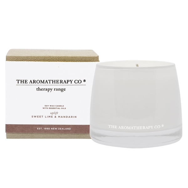260g Uplift Therapy Candle Sweet Lime & Mandarin