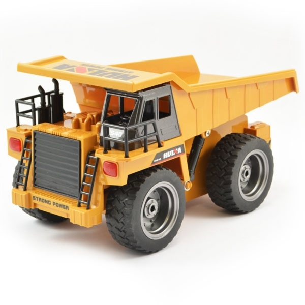 HUINA 6 Channel 2.4G Dump Truck with Die Cast Cab