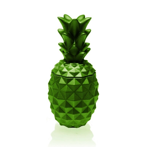 Lime Concrete Pineapple For Her Candle - Image 1
