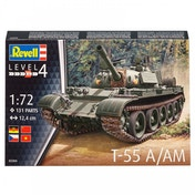 T-55 A/AM 1:72 Revell Model Kit