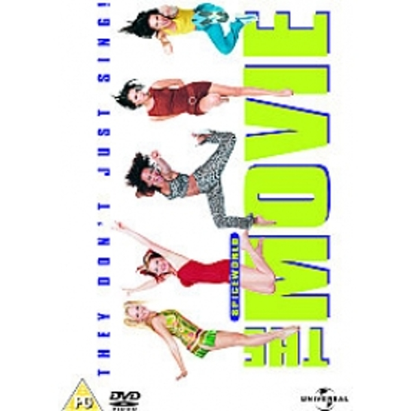 Spiceworld The Movie DVD