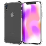 Caseflex iPhone XR Shock Resistant Gel Case - Clear