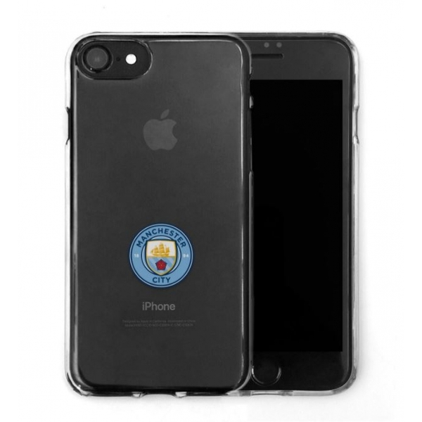 Official F.C. Manchester City Merchandise TPU Clear iPhone 7 Cover