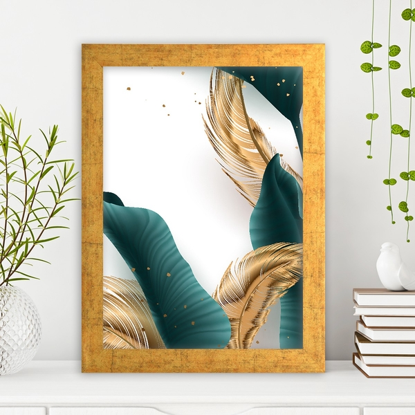 AC13953999322 Multicolor Decorative Framed MDF Painting