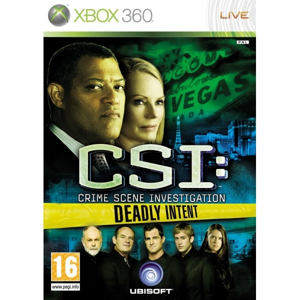 CSI Crime Scene Investigation Deadly Intent Game Xbox 360