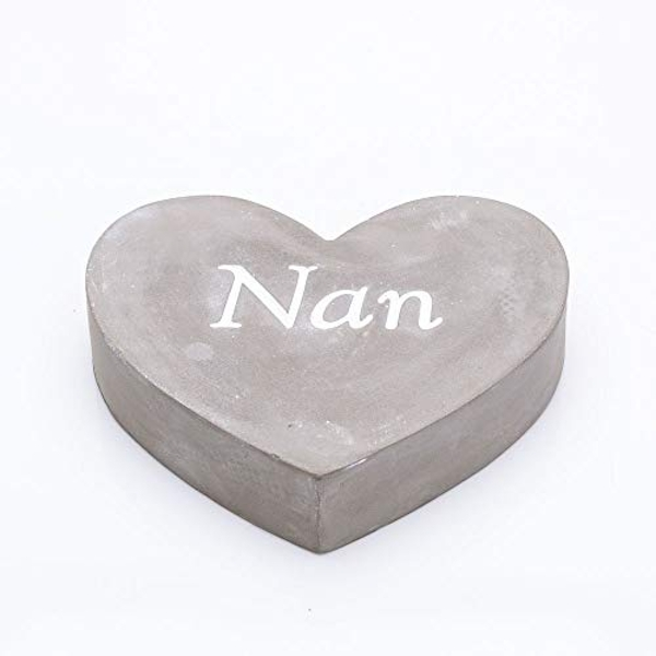 Thoughts Of You Graveside Concrete Heart - Nan
