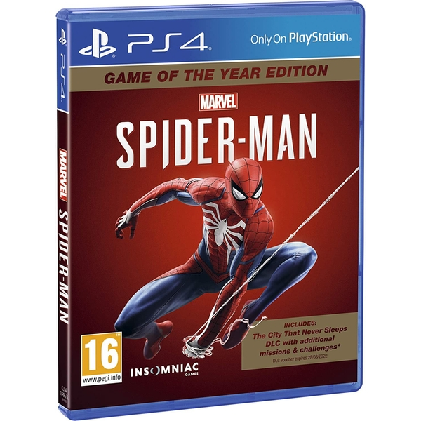 Marvel's Spider-Man Game Of The Year Edition (GOTY) PS4 Game