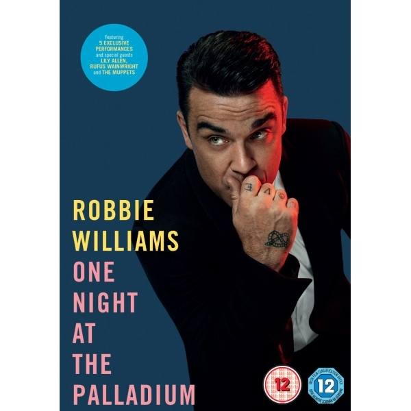 Robbie Williams One Night at the Palladium DVD