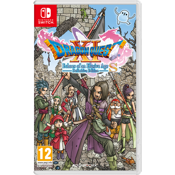 Dragon Quest XI S Echoes Of An Elusive Age Definitive Edition Nintendo Switch Game - shop4world.com - Image 1