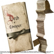 The Hobbit Bilbo Baggins Contract