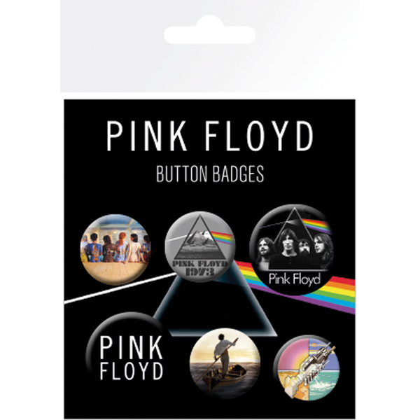Pink Floyd Mix Badge Pack