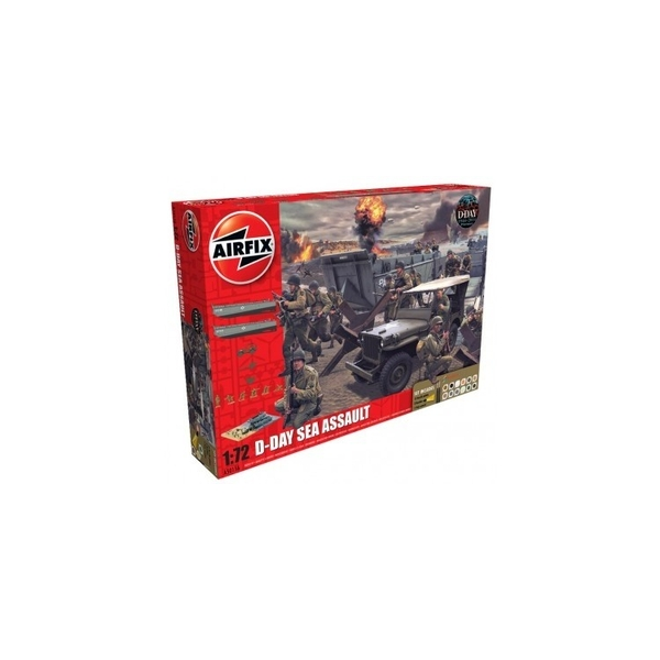 75th Anniversary D-Day Sea Assault Air Fix Gift Set