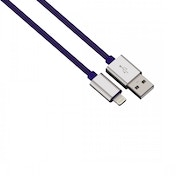 Hama Color Line Charging/Sync Cable (Blue) Lightning Aluminium 1m