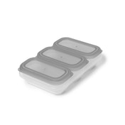 Skip-Hop Easy Store 4oz Containers (Grey)