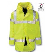 Black Knight X-Large Bedivere High Visibility 4 In 1 Jacket - Yellow