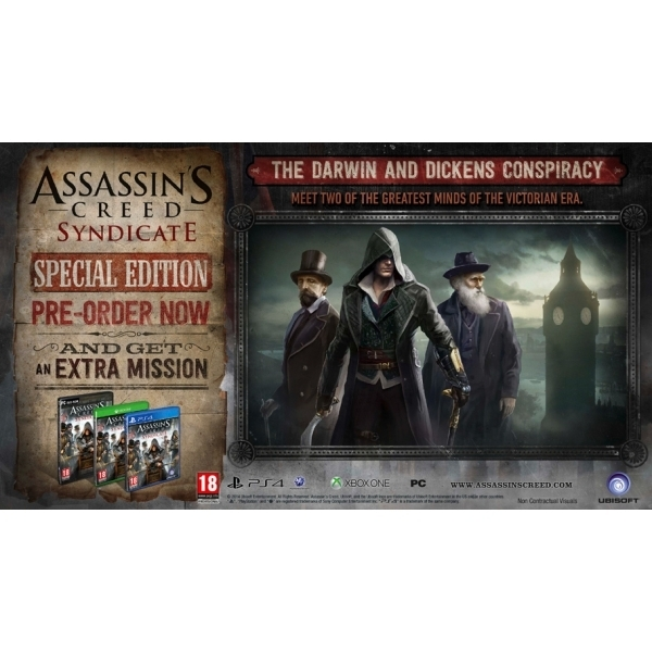Assassin's Creed Syndicate Special Edition PC CD Key Download for uPlay - Image 2