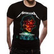 Metallica - Hardwired Album Cover Unisex Large T-Shirt - Black