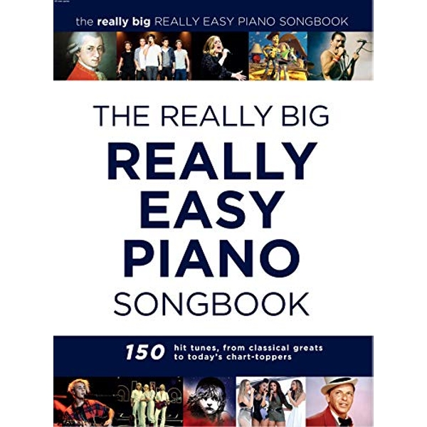 The Really Big Really Easy Piano Songbook by Music Sales Ltd (Paperback, 2017)