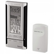 EWS-380 Electronic Weather Station Black/Silver