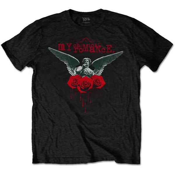 My Chemical Romance - Angel of the Water Unisex Small T-Shirt - Black