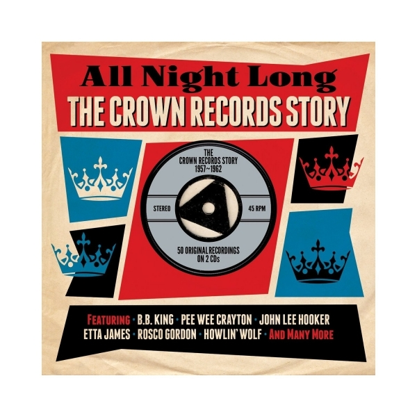 Various Artists - All Night Long: The Crown Records Story 1957-1962 CD