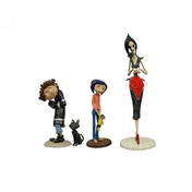 Coraline Cat Wybie & Other Mother (Coraline) Neca 4 Figure Set