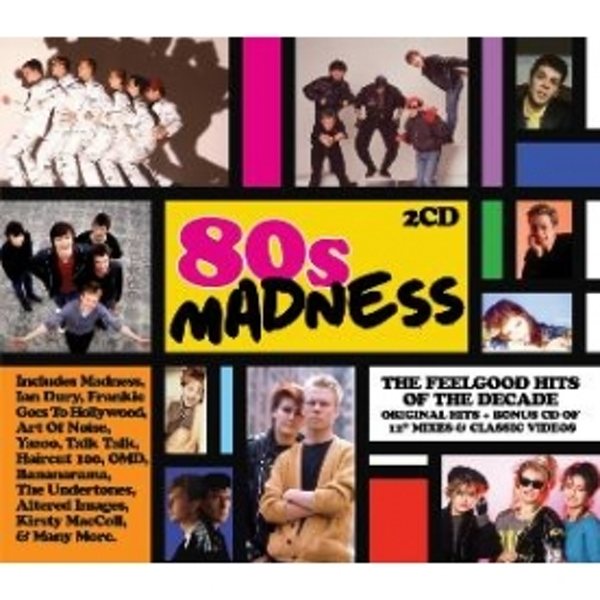 80s Madness CD