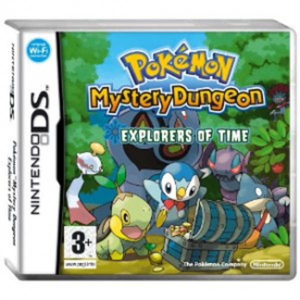 Pokemon Mystery Dungeon Explorers Of Time Game DS