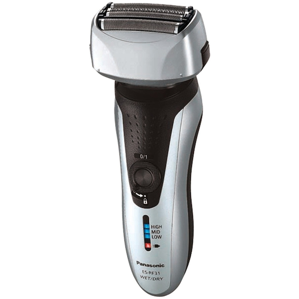 Panasonic ESRF31S Four Blade Wet and Dry Rechargeable Shaver UK 2 pin Plug
