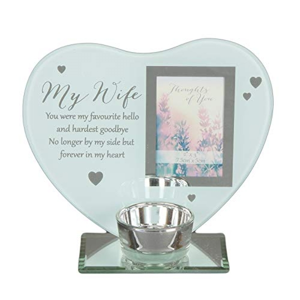 Thoughts of You 'Wife' Heart Tealight Holder