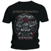 Avenged Sevenfold Battle Armour Black T Shirt: X Large