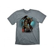 Defense Of The Ancients DOTA 2 Roshan X-Large Grey T-Shirt