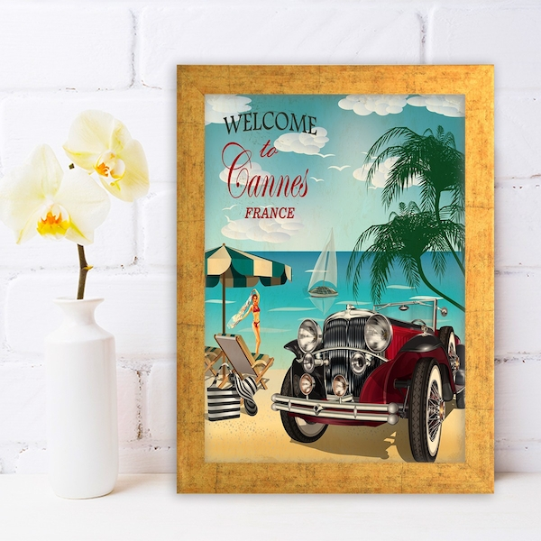 AC242171893 Multicolor Decorative Framed MDF Painting