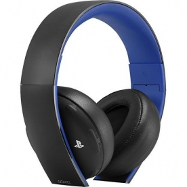PS4 Official Sony PlayStation Gold Wireless Stereo Headset Black