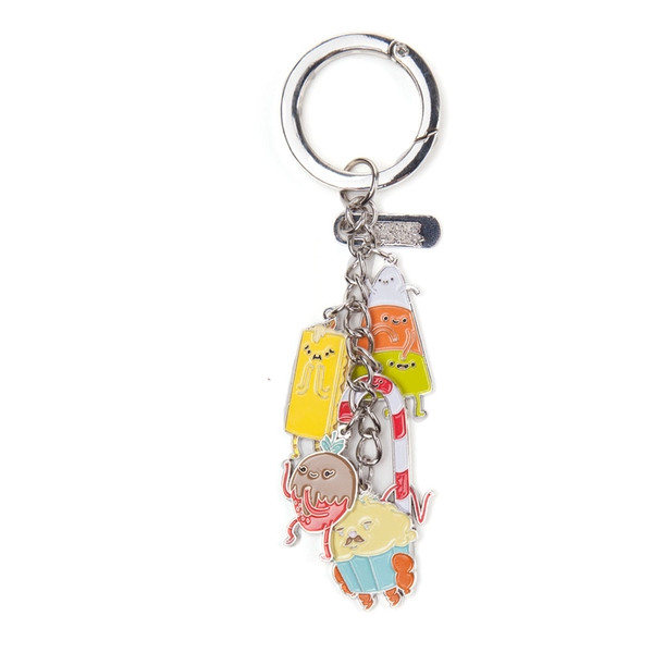 Adventure Time - Candy People Keychain - Multi-Colour