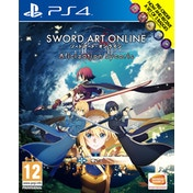 Sword Art Online Alicization Lycoris PS4 Game & Set of 5 Badges