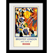 Transport For London Brightest London 2 60 x 80 Framed Collector Print - Image 2