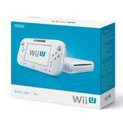 Nintendo Console 8GB Basic Pack White Wii U
