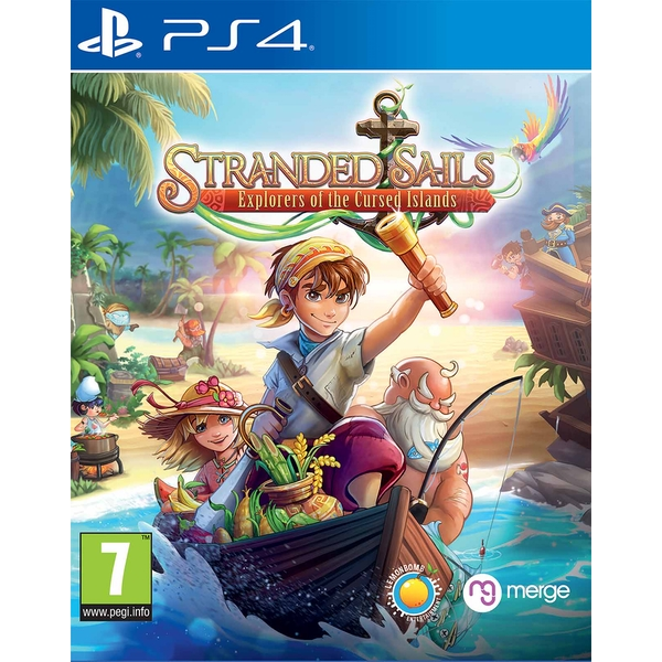 Stranded Sails Explorers of the Cursed Islands PS4 Game
