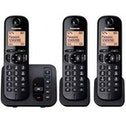 Panasonic Digital Cordless Answer Phone with Nuisance Calls Block Triple UK Plug
